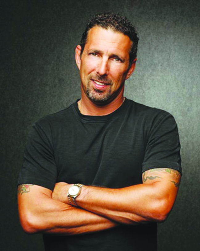 Stand-up comic and New Jersey native Rich Vos performed in New Brunswick's Stress Factory on February 2nd.  Photo courtesey of Rich Vos PR team.