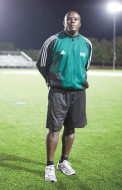 """Widmarc """"Tigana"""" Dalce, former Viking and Mercer's first African American coach"""