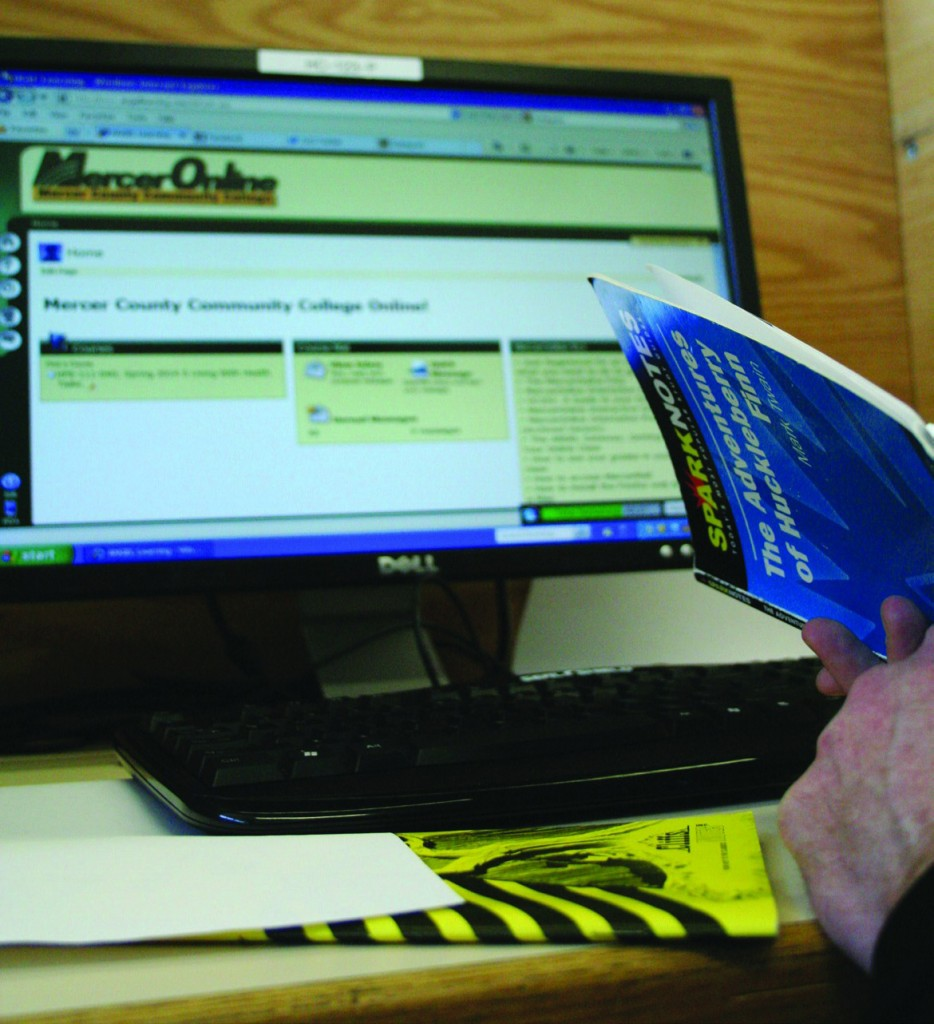 In a VOICE survey conducted in 2011 of 30 Mercer students who had taken an online course, 100 percent said they had cheated in an online class. Now more substantial research suggests this mode of instruction may not work well for community college students. Photo credit: Zack Bryson.