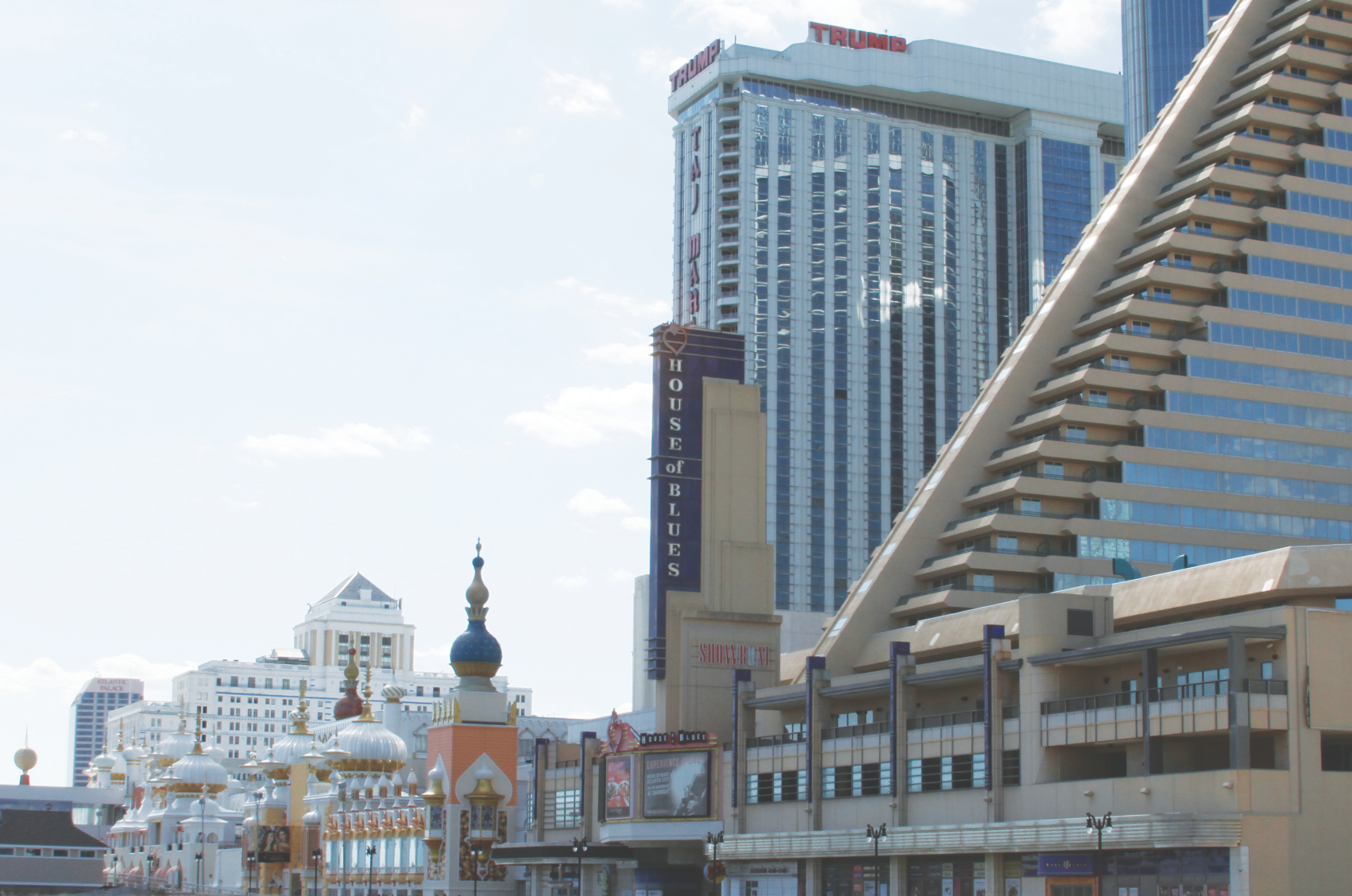 Four major casinos are shuttered in Atlantic City, depressing the local and state economy.
